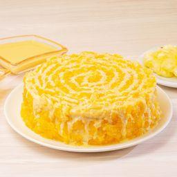 Torta Média de Delícia de Abacaxi - 1,3kg