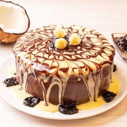Torta Delícia de Ameixa com Cocada - 2kg