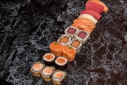 Combinado Loucos Por Sushi - 19 Peças + Guaraná 350ml
