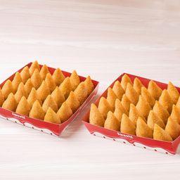 Kit 50 Mini Coxinhas Sweets