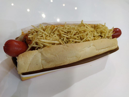 Hot Dog Tradicional Brasileiro