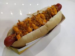 Hot Dog Bacon Cheddar