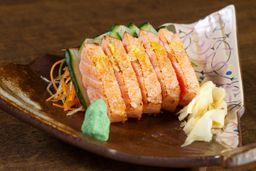 Sashimi de Salmão Trufado - 5 Peças