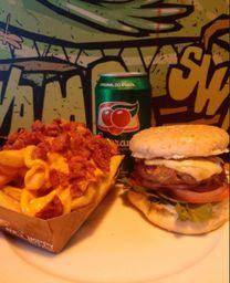 Combo Classic Salad Burger + Guaraná