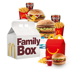 Family BOX para 3 Pessoas