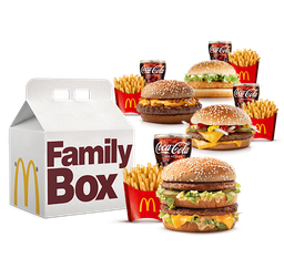 Family BOX para 4 Pessoas