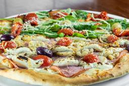 Pizza de Lombinho Canadense