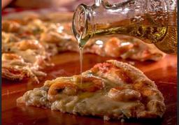 Pizza de Camarão Á Italiana