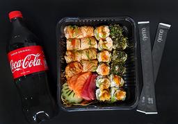 Combo especialidades - 25 peças + Coca Cola 1l Grátis