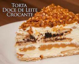 Torta Doce de Leite Crocante - 200g