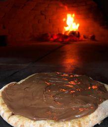 Pizza Broto de Nutella