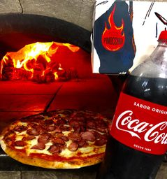 Combo 2: Pizza Grande + Refrigerante 2 litros