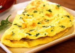 Omelete Galo de Briga