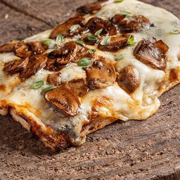 Pizza de Cogumelos e Gorgonzola