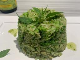 Arroz Integral de Brócolis