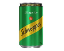 Schweppes Ginger Ale Lata 220ml