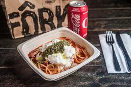 Combo spaghetti pomodoro + refri