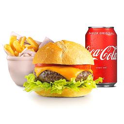 Combo Cheeseburger Madero