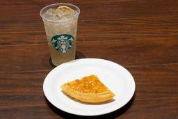 1 Refresher Limão + 1 Waffle Lemon Pepper