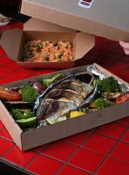Peixe Inteiro Al Horno - Pargo 1kg