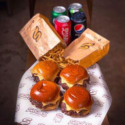 Combo 4 X-Burger