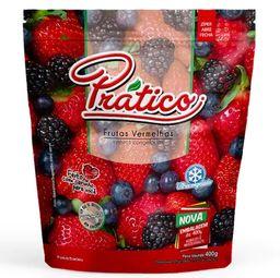 Mix De Frutas Vermelhas Congeladas Prático 350 g