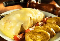 Bacalhau ao queijo da Serra da Estrela - para 3 Pessoas