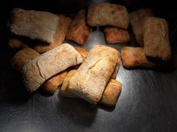 Pão Ciabatta com Azeite de Olive
