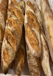 Pão Baguette Tradição ao Levain