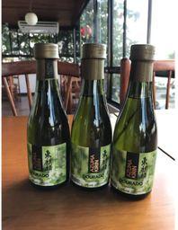 3 garrafinhas de sake 175ml