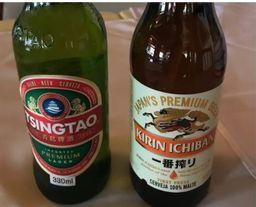 Dupla de cerveja oriental