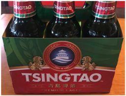 Pack com 6 Tsingtao Beer 330ml