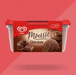 Pote Kibon Mousse Chocolate 1,3L