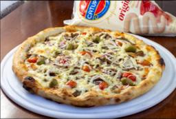 Pizza de Costela Especial.