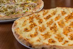 50% off na sua segunda pizza de 35cm de qualquer sabor