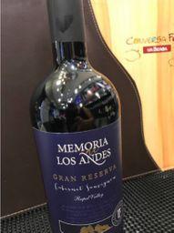 MEMORIA DE LOS ANDES GRAN RESEVA CARBENET SUAVIGNON 2018 (CHI)