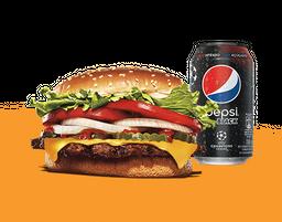 Capitão: Whopper® + Pepsi