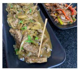 Meat n curry - Boi acebolado
