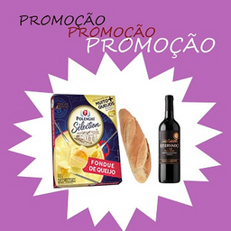 Combo Fondue Petit + Vinho + Pão Italiano - 283359