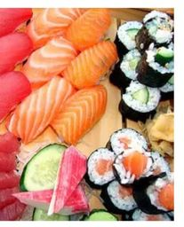 Rodizio Sushi One + Yakissoba + Refri 600ml.
