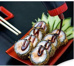 Oferta! 20 Hot holls de salmão grelhado