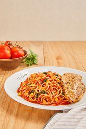 Frango Com Spaghetti Rústico