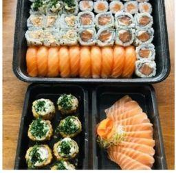 60 Sushi Salmão