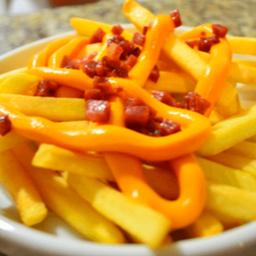 Fritas com Cheddar Pequena 200g
