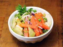 Salada de Legumes (400g) e Suco da Casa (300ml)