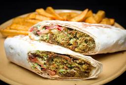 Sanduiche de Falafel