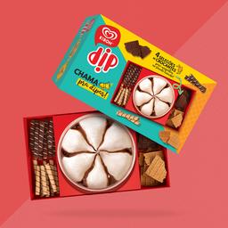 Kibon Dip – 440ml de sorvete + 110 g de biscoitos sortidos