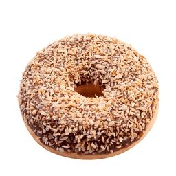 Donuts de Chocolate e Cobertura de Chocolate com Coco