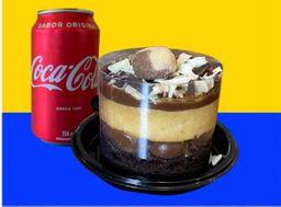 Mini torta + Refrigerante lata 350 ml