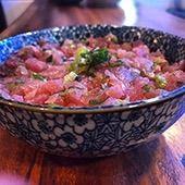 Porção de Tataki de Atum